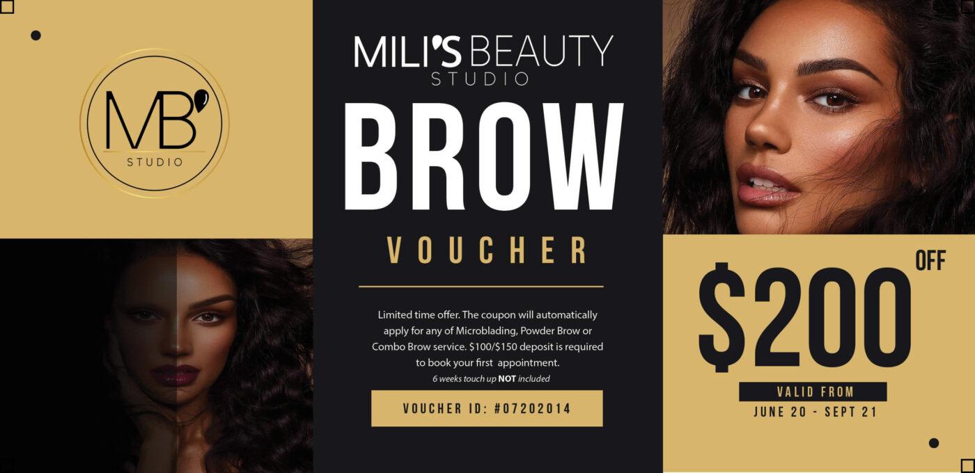 Mili's Beauty Studio Promo Voucher(1)